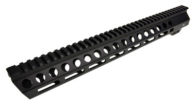 "Davidson Defense Black Diamond Series ""Executive"" 15"" M-Lok Slant Pro Handguard - Made in USA"
