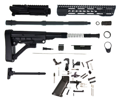 "Davidson Defense ""The Siege"" AR-15 Complete Rifle Kit W/ 16"" 5.56 M4 NATO 1:7 Barrel & 12"" ModPro Keymod Handguard"