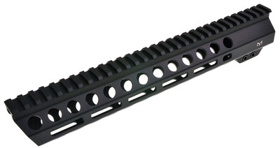 "Davidson Defense Black Diamond Series ""Executive"" 12"" M-Lok Slant Pro Handguard - Made in USA"