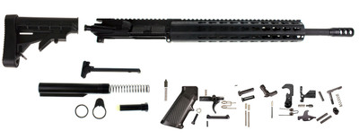 "Aero Precision AR-15 Assembled Upper Kit W/ 7.62X39 16"" Phosphate HBar Barrel 1:10 Twist  12"" Rifle Length  Keymod Modular Octagon Slim Free"