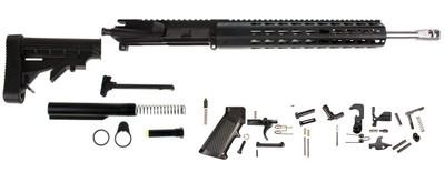 "Aero Precision AR-15 Complete Rifle Kit W/ .223 WYLDE 16"" Stainless HBar Barrel 1:8 Twist  12"" Rifle Length  Keymod Modular Octagon Slim Free Float Handguard (COPY)"