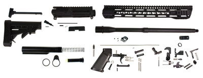 "Davidson Defense ""The Vampire"" AR-15 Builder Rifle Kit W/ 16"" Match Comp Style Barrel & 15"" Premium Handguard"