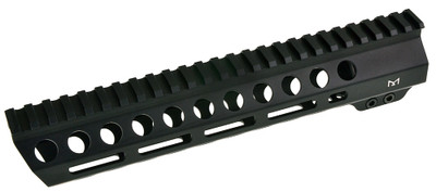 "Davidson Defense Black Diamond Series ""Executive"" 10"" MLok Slant Pro Handguard - Made in USA"