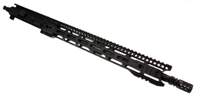 "Davidson Defense AR-15 Assembled Upper W/ 16"" .223 WYLDE M4 1-9 Twist Parkerized Barrel & 15"" Ultra Premium M-Lok Handguard"