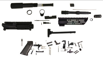 """Davidson Defense Extreme Complete Pistol Kit Featuring 7.5"""" XXtreme Barrel & 7"""" Super Lite M-Lok Handguard Comes W/ Everything But The Lower and BCG!"""