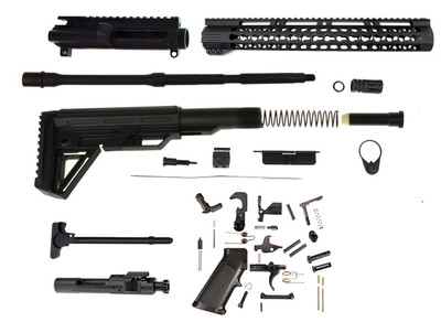 Davidson Defense Complete AR-15 Rifle Build Kit - Comes With BCG & Charging Handle