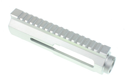 LAR Grizzly U9 Ambi Stripped Billet Upper Unique Silver Teflon Finish  (Also Great For Ceracoat Finish Of Choice)