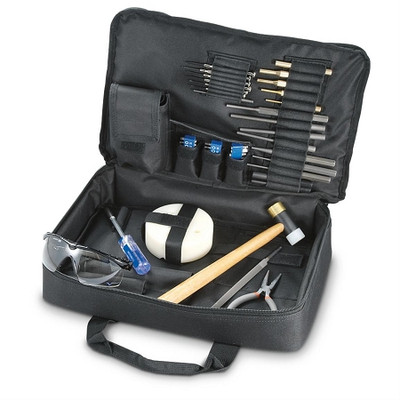 Deluxe Gunsmith Rifle Pistol Smith Carry Case Compact Black Tool Kit