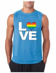 LOVE GYM Adult Sleeveless T Shirt