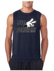 Bye Felica GYM Adult Sleeveless T Shirt
