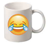EMOJI laugh coffee tea mugs gift