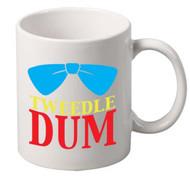 Tweedle Dum coffee tea mugs gift