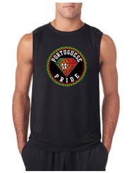 PORTUGUESE PRIDE GYM Adult Sleeve less T Shirt