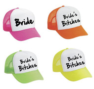 Snapback Hat Set Of 4 Bride And bitches Bride Bachelorette party Wedding Bridesmaid