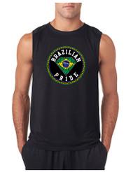 BRAZILIAN PRIDE GYM Adult Sleeve less T Shirt