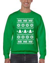 HO HO HO men Sweatshirt