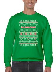 Merry Fucking Christmas Men Sweatshirt