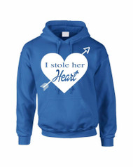 I stole her heart valentine day‬‏ gift  Mens Hooded Sweatshirt