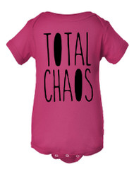 Total Chaos Baby Infant Lap Shoulder Creeper