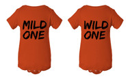 Mild One Wild One Baby Infant Lap Shoulder Creeper