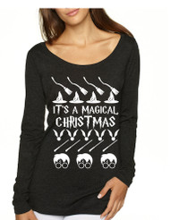 Women's Shirt It's A Magical Christmas Ugly Sweater Cool Gift