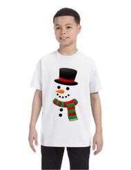 Kids T Shirt Snowman Ugly Christmas Xmas Gift Cool Holiday Top