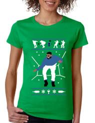 Women's T Shirt Hotline Bling Blue Cool Xmas Gift Holiday Hotline Tee