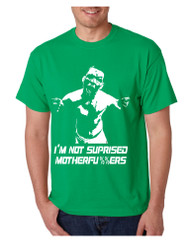 Men's T Shirt I'm Not Surprised Humor Funny Graphic Tee