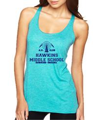 Women's Tank Top AV Club Hawkins Middle School Top