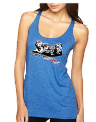 Women's Tank Top 4 Fathers American Team 4th Of July