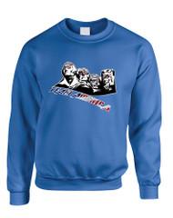 Adult Sweatshirt 4 Fathers American Team 4th Of July USA