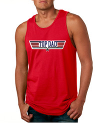 Men's Tank Top Top Dad Guns Father's Day Shirt Love Dad Gift
