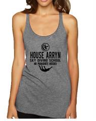Women's Tank Top House Arryn Sky Diving School Funny Top