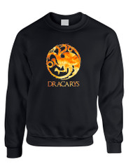 Adult Sweatshirt Dracarys Popular Trendy Top