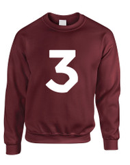 Adult Sweatshirt Chance 3 Trendy Top Cool Popular Sweatshirt