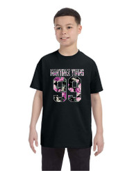 Kids Youth T Shirt Martinez Twins 99 Flower Print Trendy Shirt