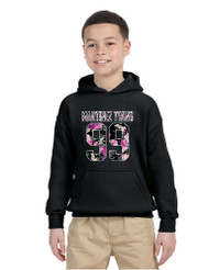 Kids Youth Hoodie Martinez Twins 99 Flower Print Trendy Top