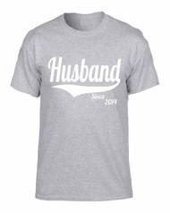 Husband since any year gift shirt