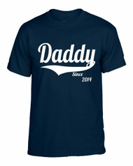 Daddy since any year gift shirt