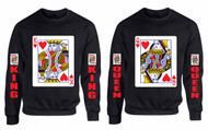 King and Queen couples gifts Sweatshirt