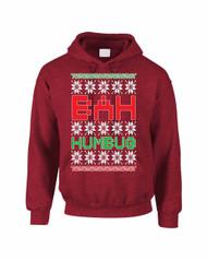Bah Humbug Christmas Women Hooded Sweatshirt