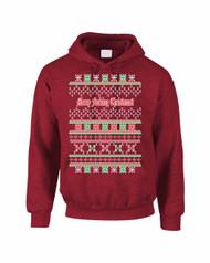 Marry fucking christmas Women Hooded Sweatshirt