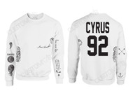 Miley Cyrus Tattoo Sweatshirt