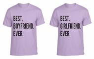 Best Girlfriend Boyfriend EVER couples gifts t shirt
