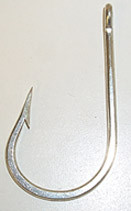 MUSTAD 7691DT FORGED DURATIN SOUTHERN TUNA HOOK #9/0