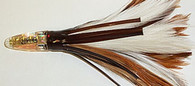 ZUKERS ZF-11 ROOT BEER FEATHER 6""