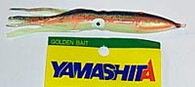 YAMASHITA 4.0 KAJIKI SQUID Blue/Brown/Orange/Glow - 4 3/4""