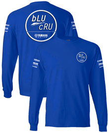 100% Cotton Long Sleeve Tee w/Sleeve Logo's
