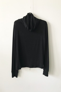 Milly S. Cowl Knit Top (M)