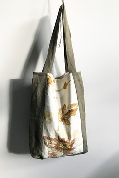 Milly S. Tote (khaki floral)
